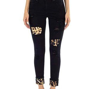 KanCan Leopard Patch Weston SkinnyJeans 9/28